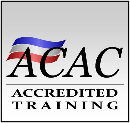 Accredited trainging for ACAC